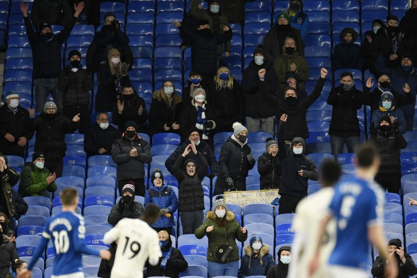 LIVERPOOL AND EVERTON HOME GAMES PUSHED BEHIND CLOSED DOORS