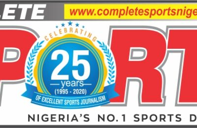 NIGERIA'S LEAD SPORTS PUBLICATION, COMPLETE SPORTS HITS MILESTONE OF 25