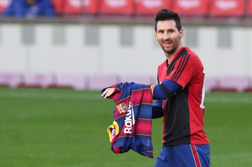 BARCA GIVES MESSI EXTENDED BREAK
