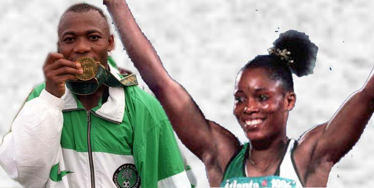 FELIZ NAVIDAD: TWO OF A KIND  NIGERIAN OLYMPIC GOLD MEDALISTS, AJUNWA AND AMUNEKE MARK MILESTONE BIRTHDAYS