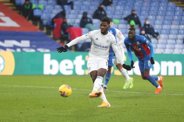 IHEANACHOR LOSES PENALTY, BUT LEICESTER FIGHT BACK TO CLIMB TO SECOND ON EPL TABLE