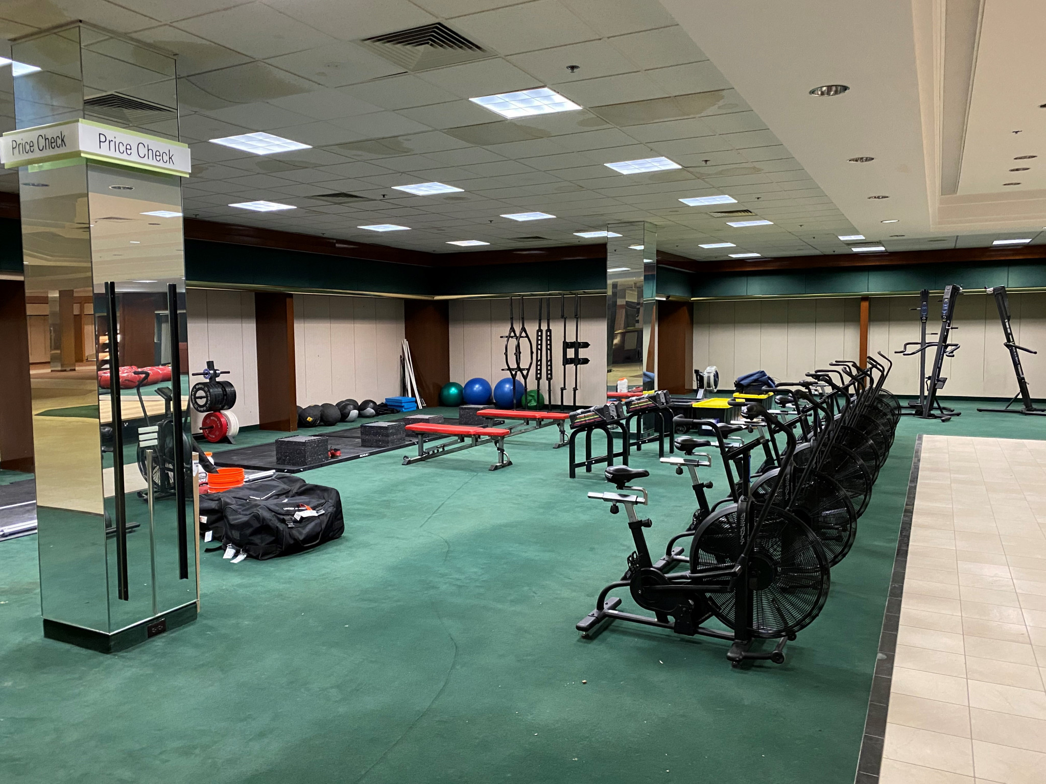 TOKYO 2020: USA BOXING CONVERT DEPARTMENT STORE INTO TRAINING FACILITY