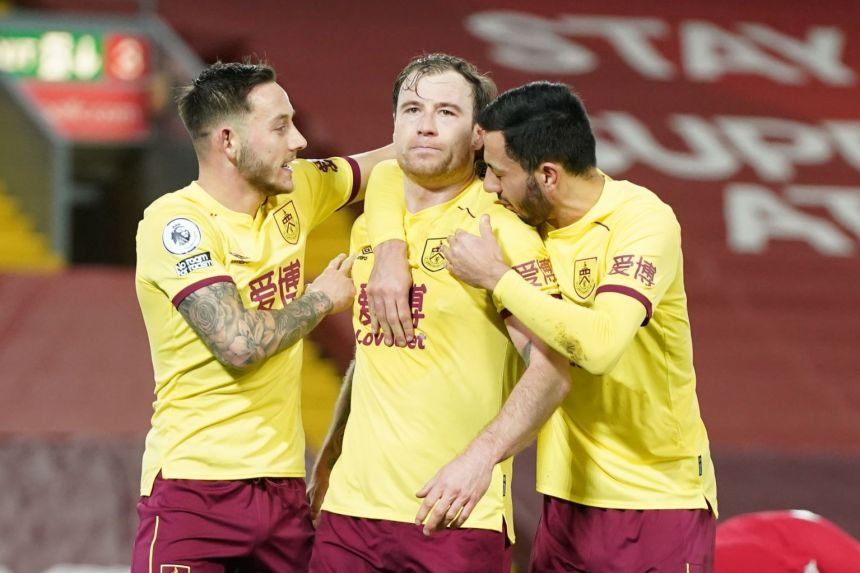 HOW BURNLEY WRECK LIVERPOOL'S UNBEATEN HOME RECORD