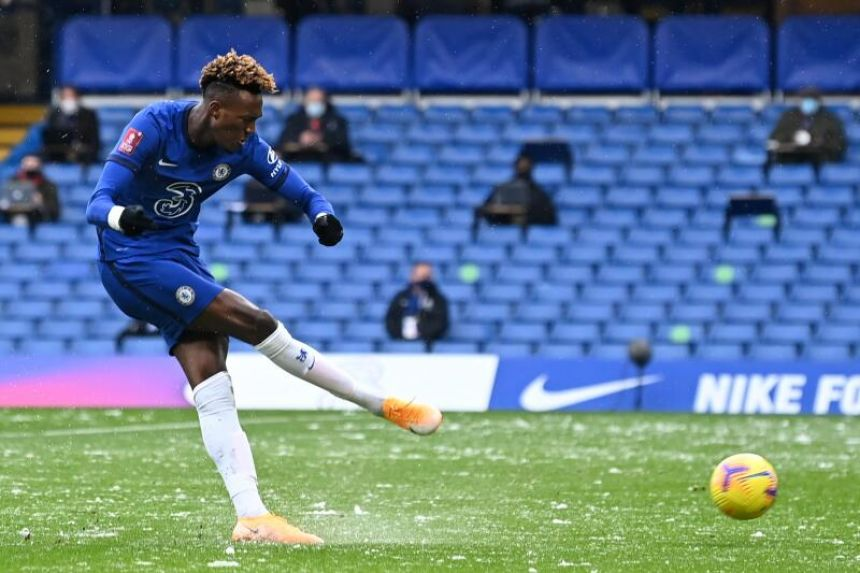 FORMER SUPER EAGLES' TARGET, TAMMY ABRAHAM SCORES HATTRICK IN CHELSEA'S FA CUP 4THH ROUND WIN
