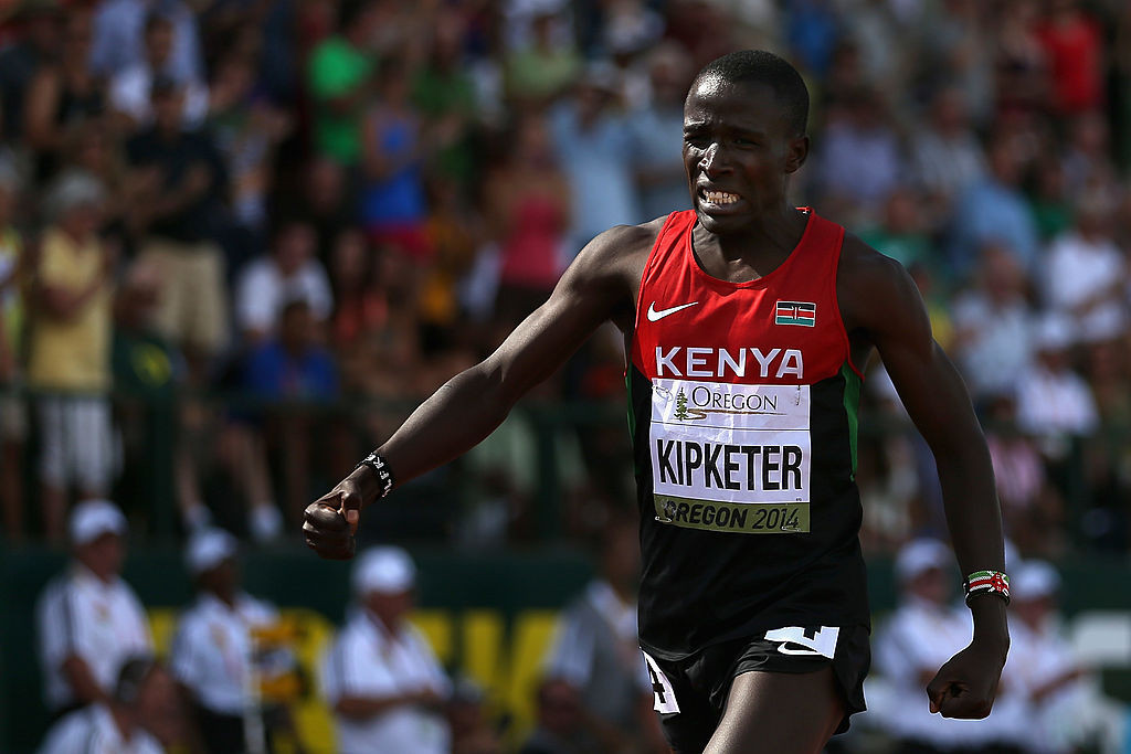 FORMER WORLD JUNIOR 800M CHAMPION KIPKETER HANDED TWO-YEAR BAN FOR MISSING TESTS
