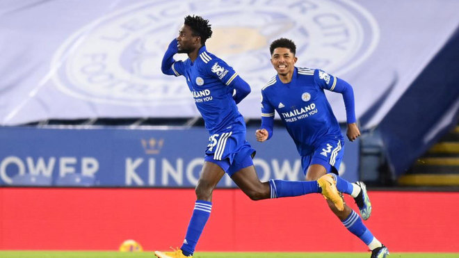 WILFRED NDIDI, COMPOUNDS LAMPARD WOES,  FIRES LEICESTER TO TOPPLE MAN UNITED ON PREMIERSHIP TABLE
