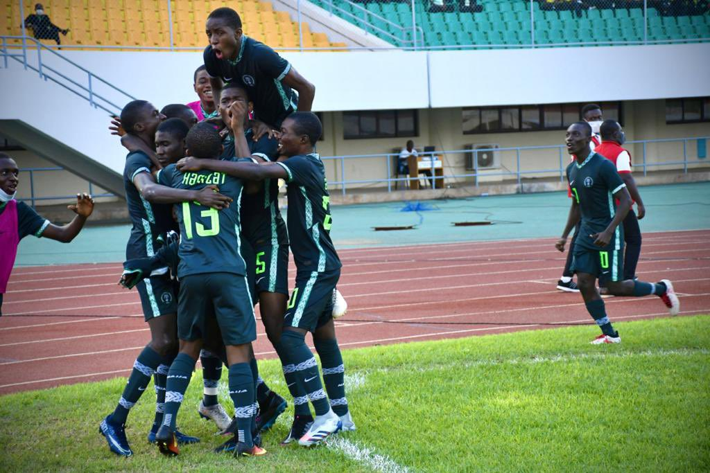 NIGERIA'S GOLDEN EAGLETS PICK U-17 AFCON TICKET
