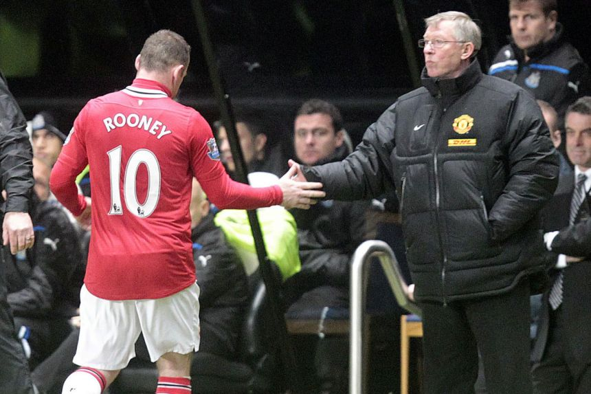 FERGUSON TIPS ROONEY TO SUCCEED AS MANAGER