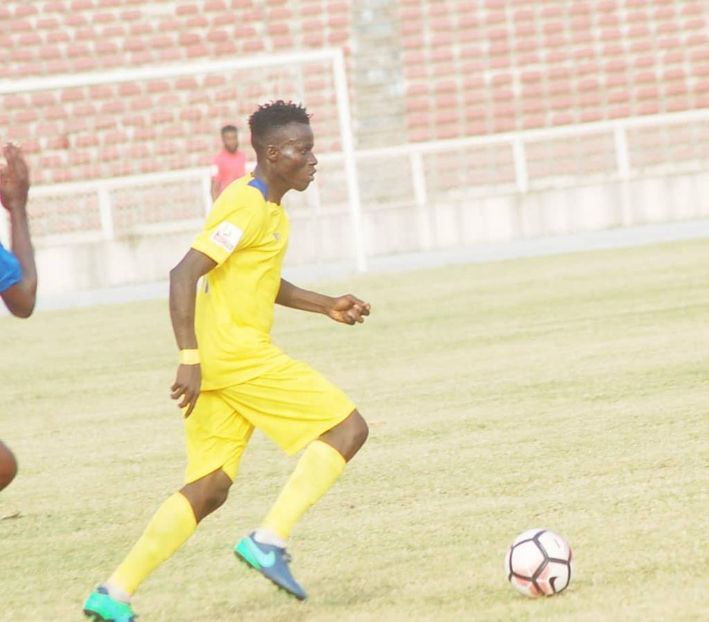 JIGAWA GOLDEN STARS' STAR PLAYER, LALA TARGETS TOP-FOUR FINISH WITH CLUB