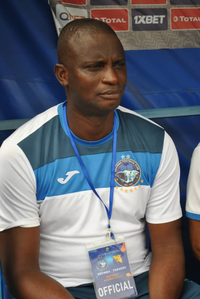 ENYIMBA COACH, OSHO, CONFIDENT OF CONFEDERATION  CUP GLORY