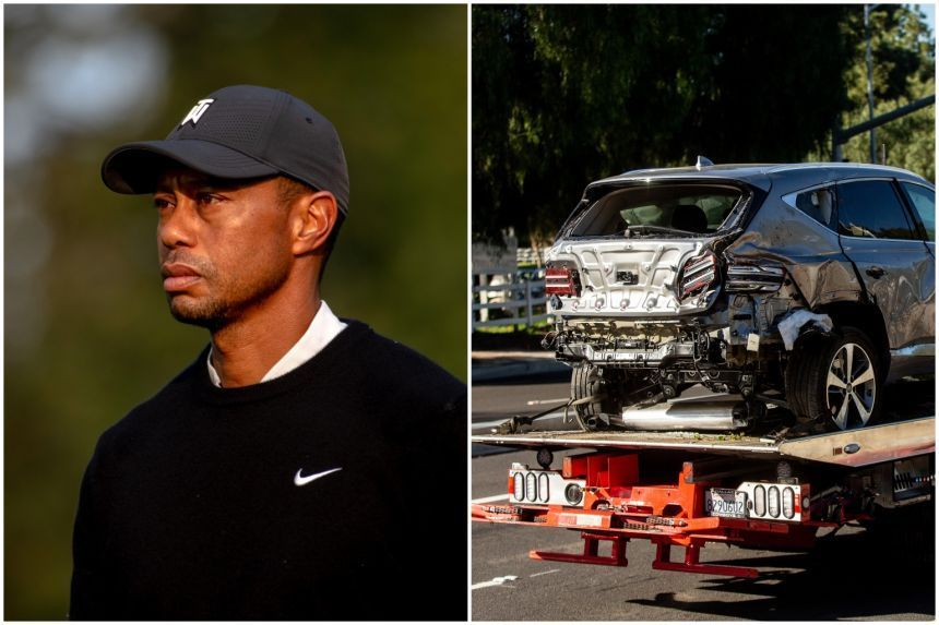 MEMORY LOSS AS TIGER WOODS TOLD COPS HE DIDN'T REMEMBER DRIVING