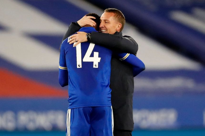 LEICESTER BOSS RODGERS RULES OUT SPURS MOVE