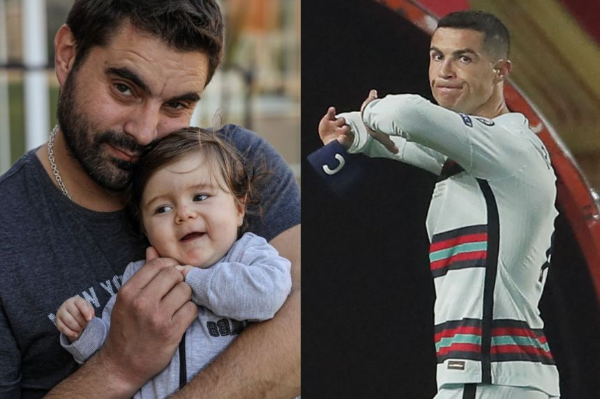 RONALDO ARMBAND SELLS FOR OVER $100,000 TO HELP TODDLER SURGERY