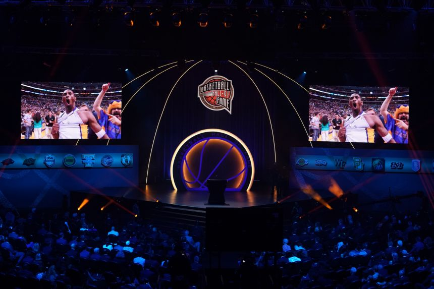 KOBE BRYANT INDUCTED POSTHUMOUSLY INTO BASKETBALL HALL OF FAME