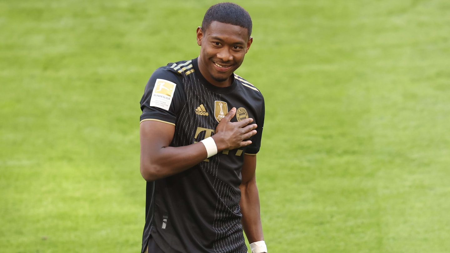Real Madrid confirm signing of David Alaba from Bayern Munich
