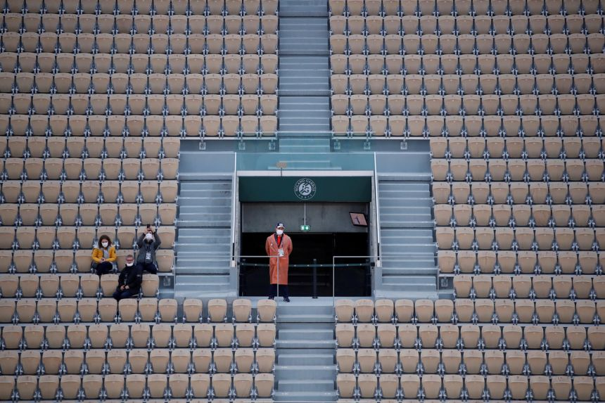 ONLY COVID-19 FREE FANS WILL ATTEND FRENCH OPEN
