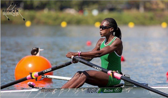 NIGERIA FEMALE ROWING  TEAM DEPARTS FOR  SWITZERLAND