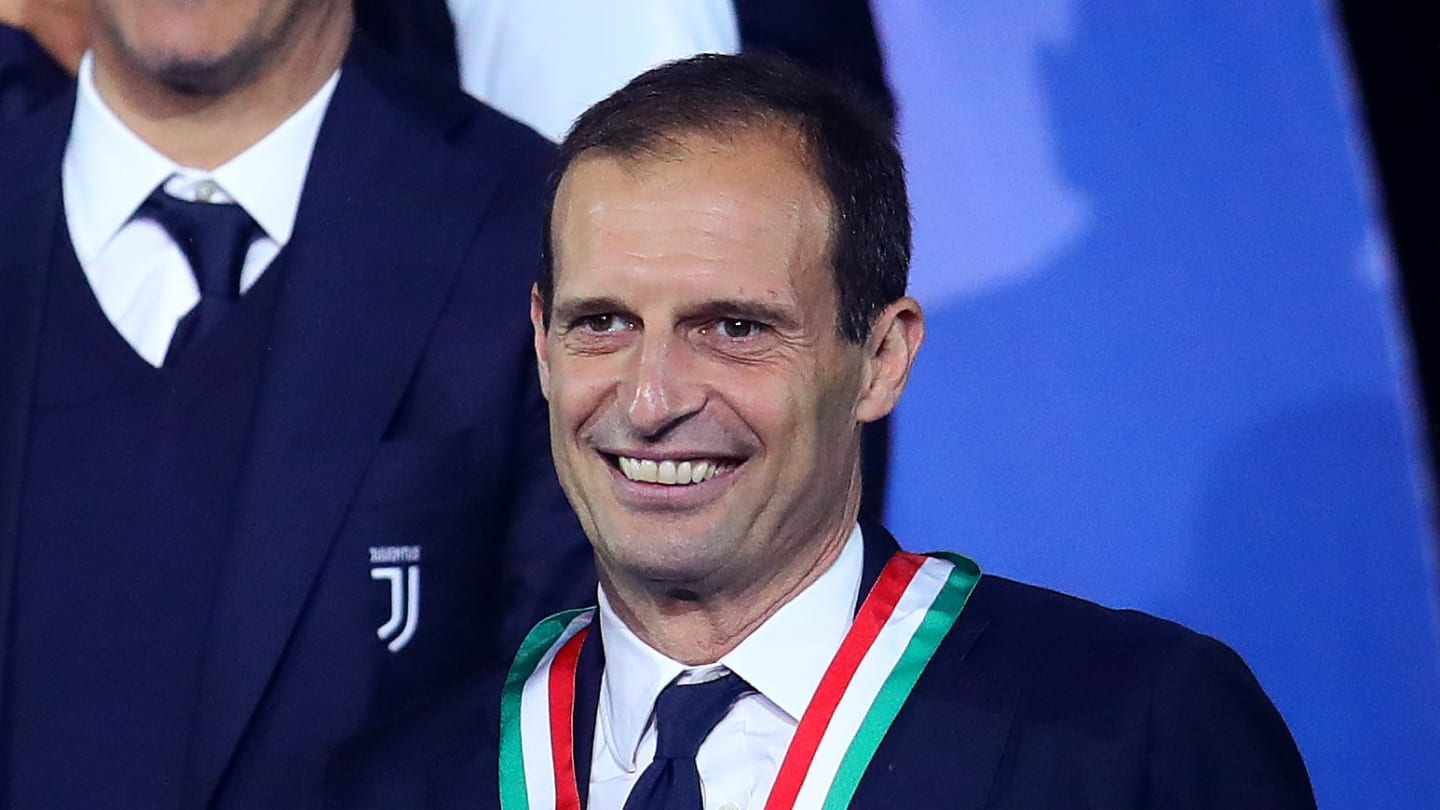 Juventus re-appoint Massimiliano Allegri as manager