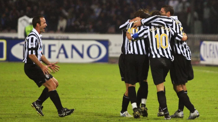 THE LAST TIME JUVENTUS WERE RELEGATED TO SERIE B