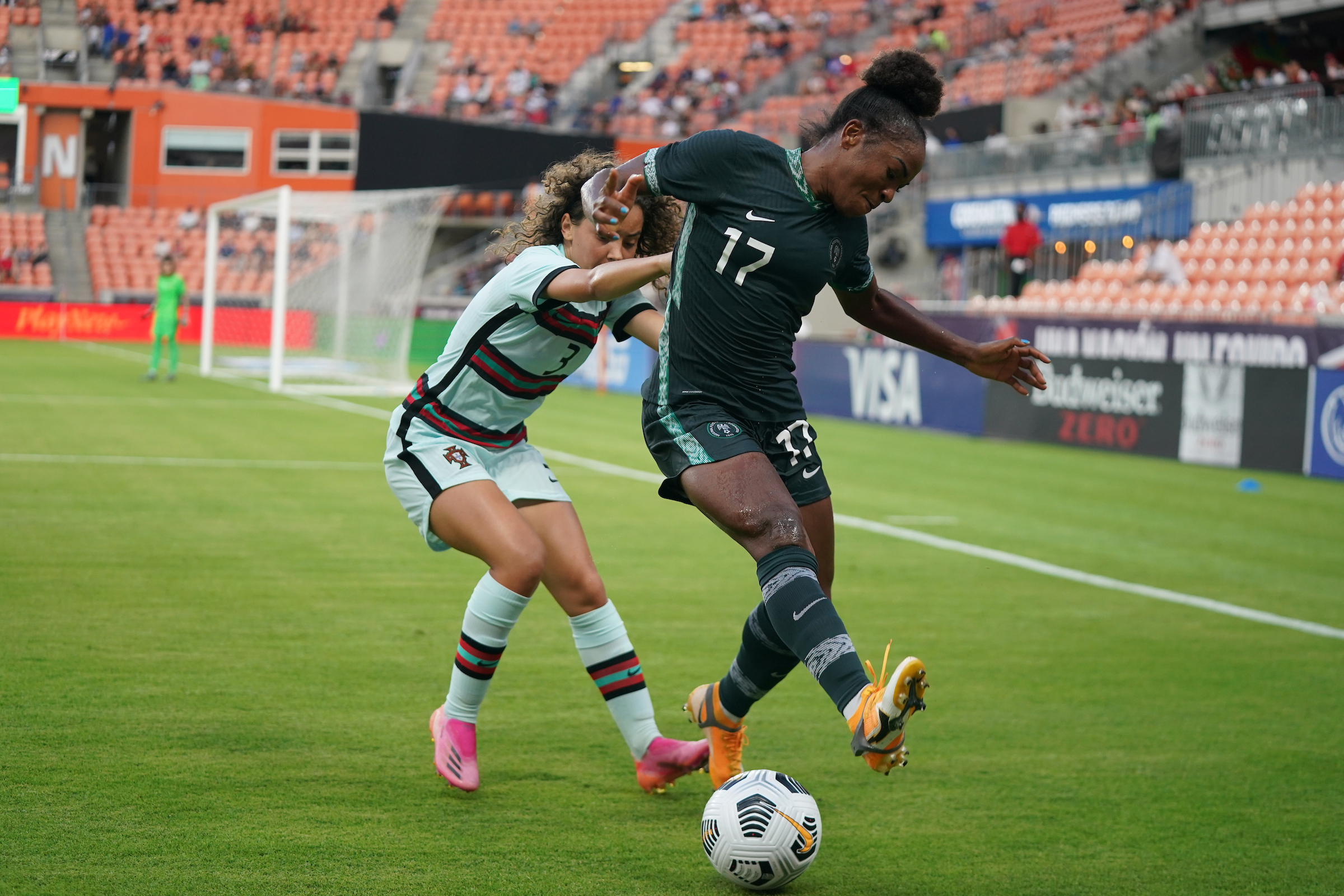 How Nigeria's Falcons held Portugal to 3-3 draw in Houston