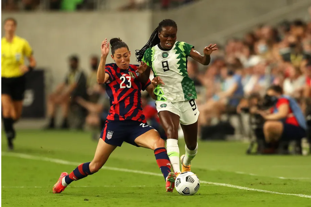 With 2-0 win against Super Falcons, US  stretch unbeaten streak to 42 games