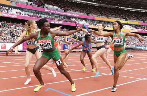 Olympics set back for Nigeria as 4x400m team is disqualified