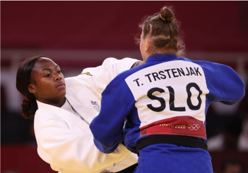 Togo's Agbegnenou wins Olympic gold for France in Judo