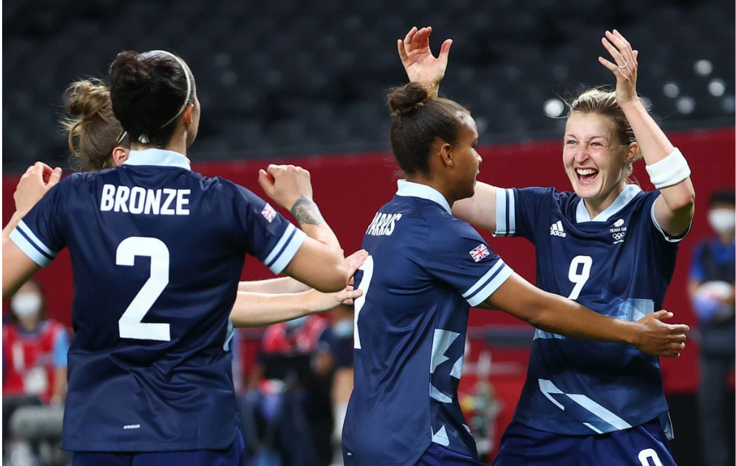Britain kick off Tokyo 2020 women's football tournament with 2-0 win against Chile