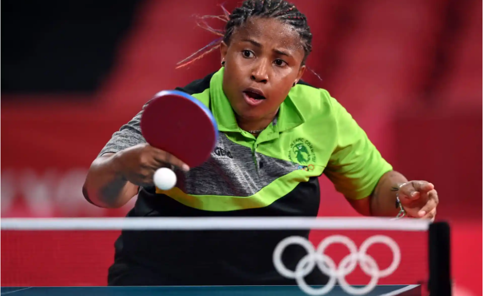 America's Zhang Lily ousts Nigeria's Edem Offiong in table tennis