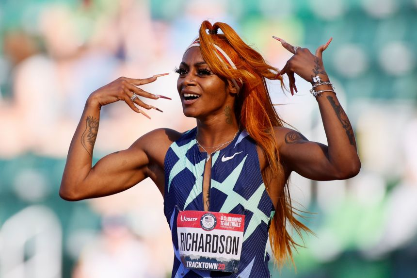 American sprinter tests positive for cannabis, could miss Olympics