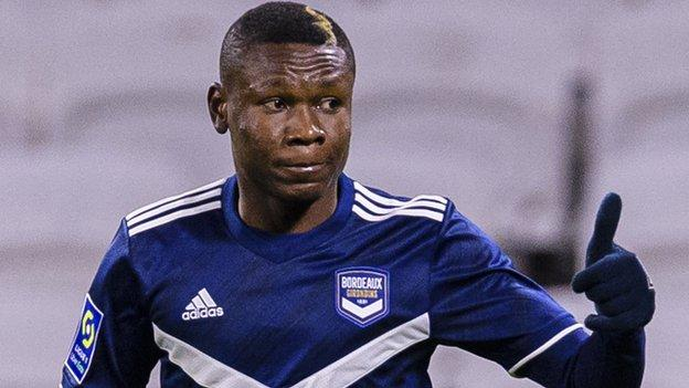 Nigeria's Kalu to resume training with Bordeaux after mid-match collapse