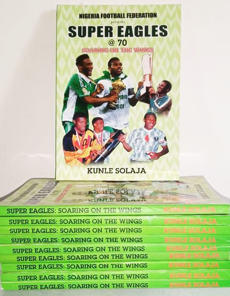 Landmark book on Super Eagles now available at RovingHeights