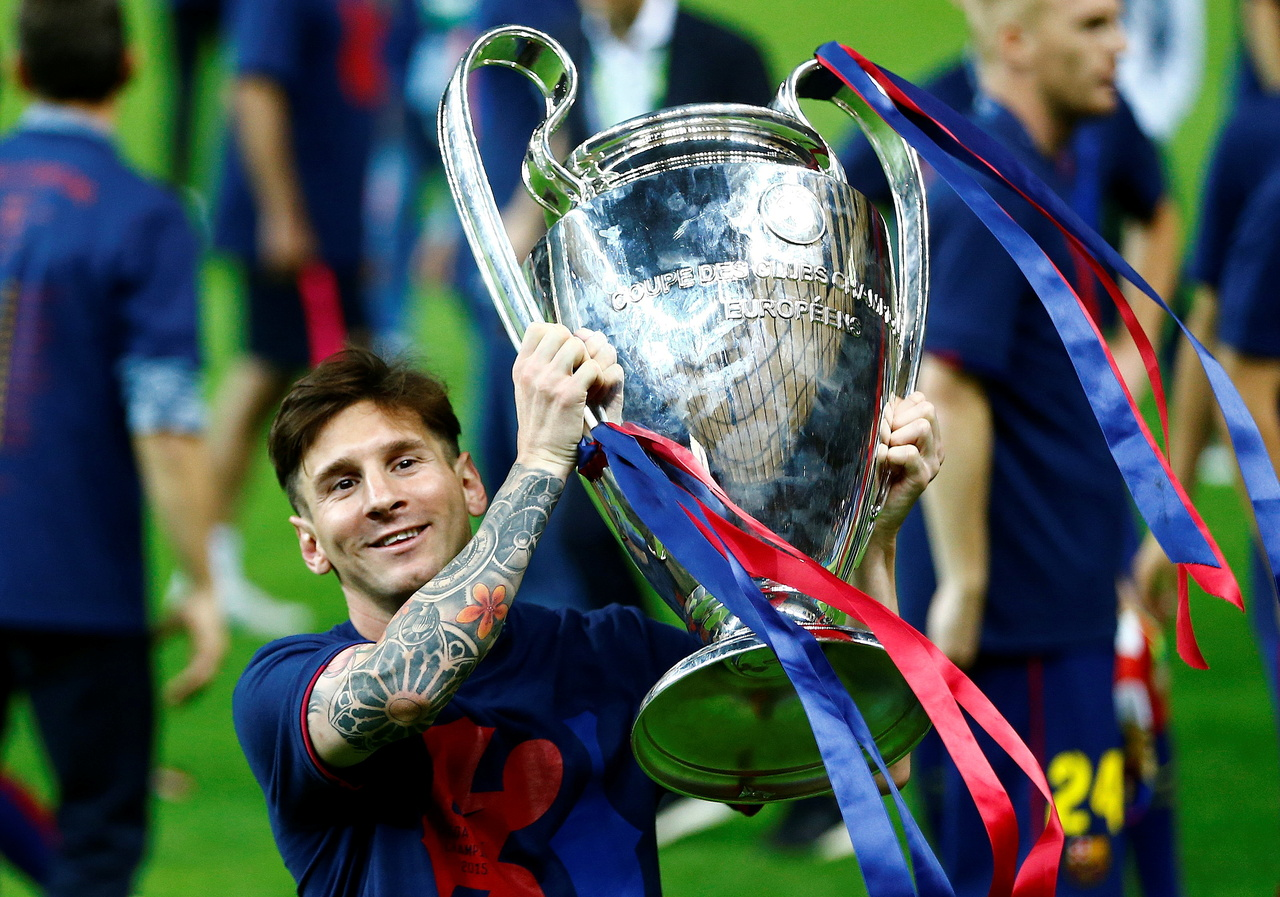 A look at departing Barcelona star Lionel Messi's career