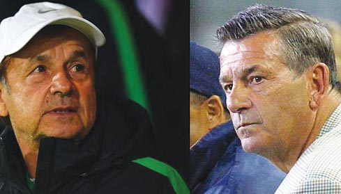 Exclusive! Gernot Rohr overtakes Clemens Westerhof