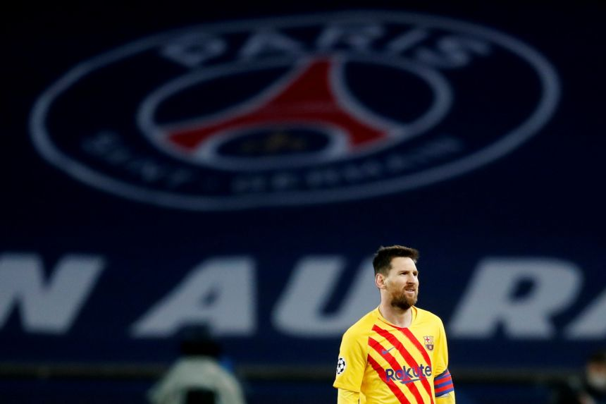 Lionel Messi on verge of joining Paris St Germain