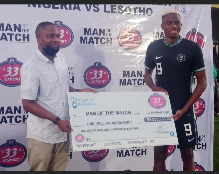 """""""33"""" Export Lager backs Nigeria at 33rd Afcon"""