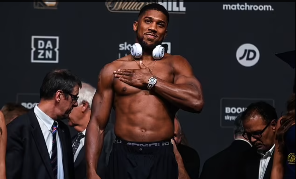 Anthony Joshua targets knock out against Usyk