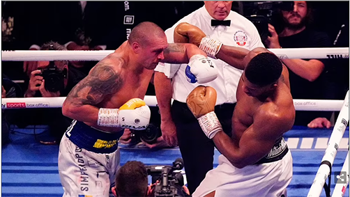 Hefty package for Anthony Joshua despite title losses