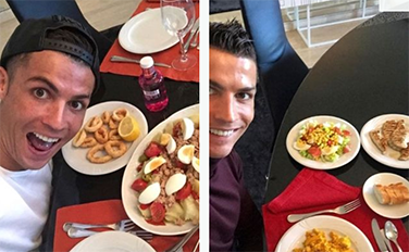 Octopus among list of meals Ronaldo handed to Man United chefs and causing a stir among other players