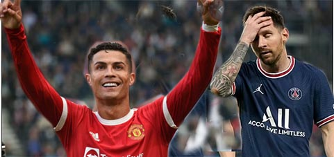 Rivalry turns one sided: Ronaldo 4; Messi 0