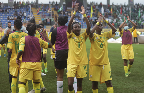 South Africa's Banyana make strong statement for new, young Falcons