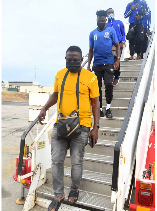 Rivers United flow into Dar es Salaam for Champions League tie