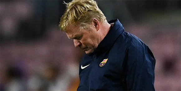 Beginning of the end for Koeman as Barca boss?