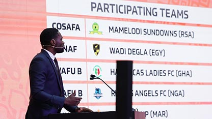 Another South African obstacle for Nigeria as Rivers Angels draw CAF president's club in CAF Women's League