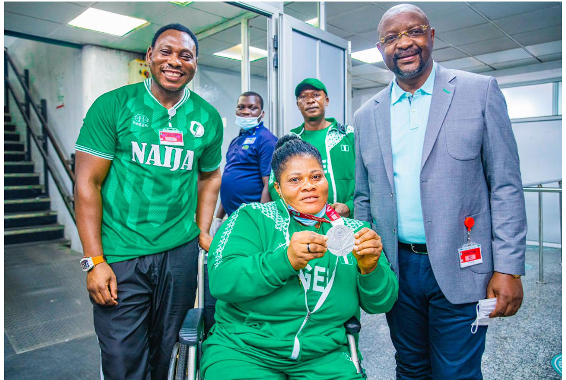 Sports Minister, Amokachi Welcome Heroic Paralympians