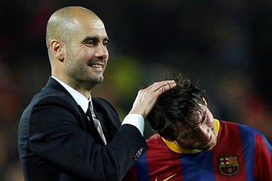 Guardiola and Messi meet again as PSG play Man City in Champions League