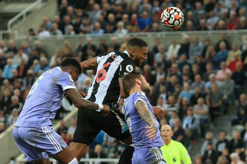 Newcastle and Leeds stay in doldrums after 1-1 draw
