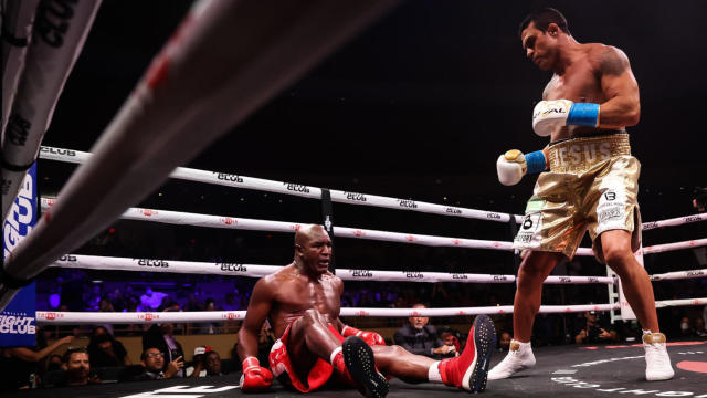 Holyfield humbled with first round TKO