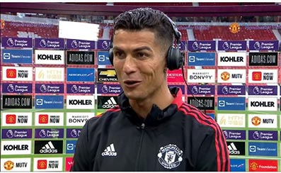 Man of the Moment, Cristiano Ronaldo sends message to Man Utd fans after scoring last-gasp winner