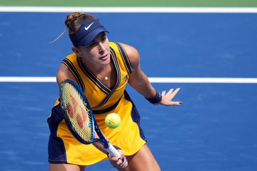 Tokyo Olympic champion Bencic cruises into US Open second round